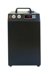 CRAL300DP Self-Contained Chiller in Black