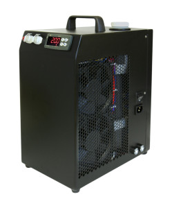 CRAL400DP Self-Contained Chiller in Black