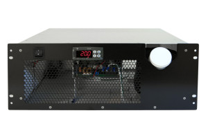 CRAL400DP Rack Mount Chiller Front View